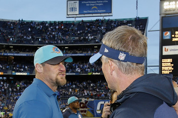 Dan Campbell Miami Dolphins v San Diego Chargers