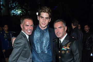 Dan Caten Dsquared2 Opening Cocktail in New Madrid Store