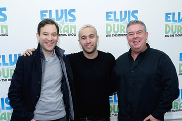 Dan Harris Pete Wentz Visits 'The Elvis Duran Z100 Morning Show'