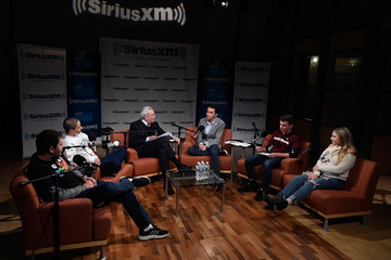 Dan Rather Dan Rather Hosts A SiriusXM Roundtable Special Event With Parkland, Florida, Marjory Stoneman Douglas High School Students And Activists Emma Gonzalez, David Hogg, Cameron Kasky, Alex Wind And Jaclyn Corin