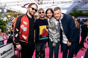 Dan Reynolds SiriusXM's 'Hits 1 in Hollywood' Broadcasts From the Red Carpet Leading Up to the Billboard Music Awards at the T-Mobile Arena