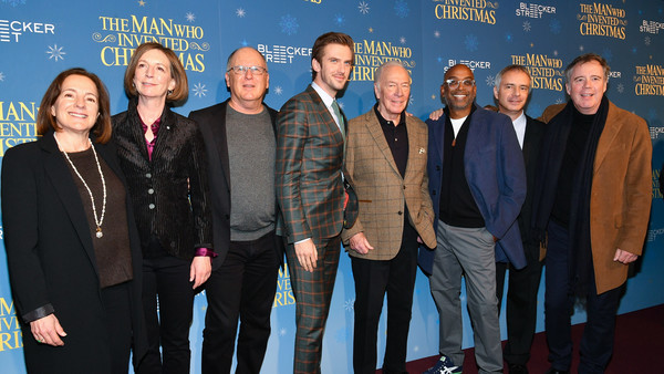 the man who invented christmas new york screening - When Was Christmas Invented
