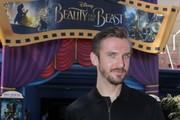 """ANAHEIM, CA- MARCH 03:  In this handout photo provided by Disney Parks,) """"Beauty and the Beast"""" star Dan Stevens visits the film's sneak peek experience at Disney California Adventure park on March 3, 2017 in Anaheim, California. Disney's """"Beauty and the Beast"""" hits theaters nationwide on March 17, 2017."""