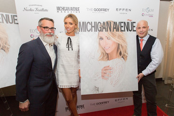 Dan Uslan Michigan Avenue Magazine Celebrates Its Spring Fashion Issue with Giuliana Rancic at the Godfrey Hotel Chicago