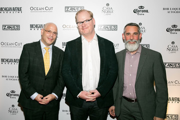 Dan Uslan Michigan Avenue Magazine Celebrates Its Late Fall Issue With Cover Star Jim Gaffigan at Ocean Cut