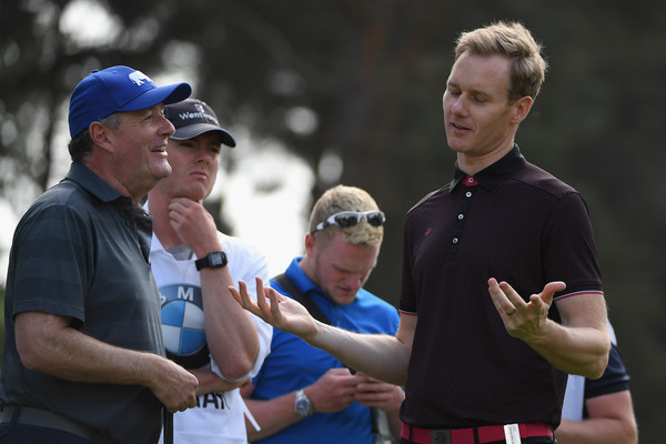 BMW PGA Championship - Previews [previews,golf,fourball,recreation,championship,coach,competition event,sports,precision sports,games,gesture,piers morgan,dan walker,england,virginia water,wentworth,bmw pga championship,pro am]