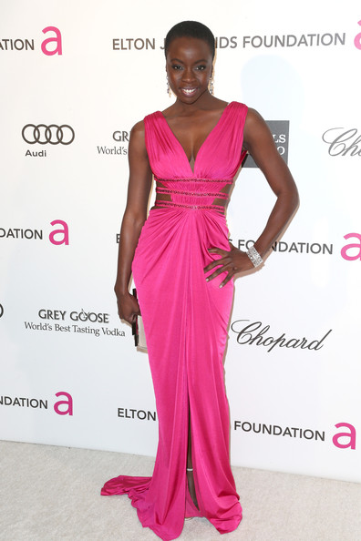 Danai Gurira - 21st Annual Elton John AIDS Foundation's Oscar Viewing Party - Arrivals