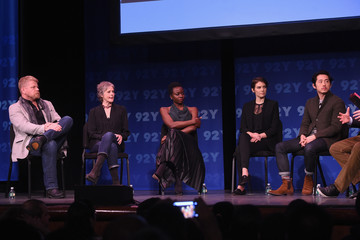 Danai Gurira Steven Yeun 'The Walking Dead': Screening and Conversation at the 92nd St Y
