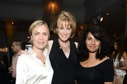 """Radha Mitchell, Melissa Rosenberg and Suleka Mathew attend the """"Dancing For NED"""" benefit for the Cedars Sinai Women's Cancer Program on May 4, 2013 in Los Angeles, California."""