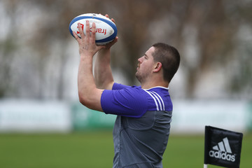 Dane Coles New Zealand All Blacks Training Session and Press Conference
