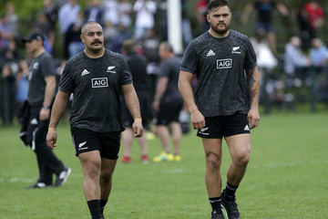 Dane Coles All Blacks Media Day In Buenos aires