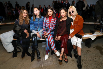 Dani Song Self-Portrait Fall Winter 2018 -Front Row - New York Fashion Week