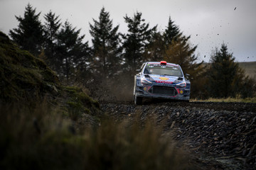 Dani Sordo FIA World Rally Championship Great Britain - Day One