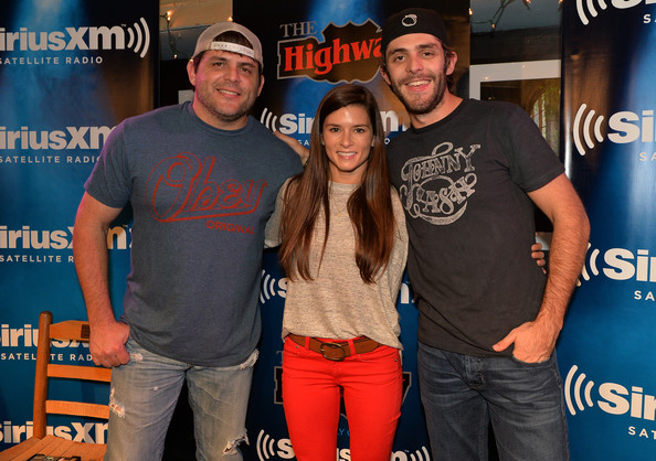 Danica Patrick and Thomas Rhett Photos - SiriusXM VIP Performance    Rhett Akins And Thomas Rhett