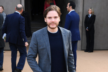 Daniel Bruhl Arrivals at the Burberry Prorsum Show