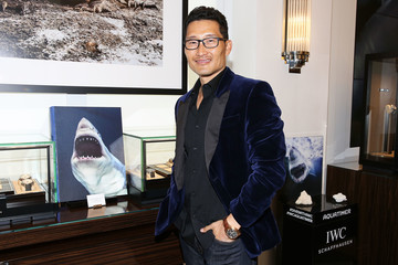 Daniel Dae Kim IWC Launches The Aquatimer Edition Sharks With Special Guests Michael Mueller And Taschen