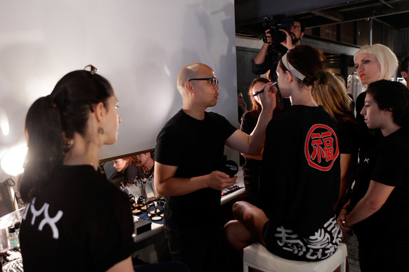 NYX Cosmetics at Tracy Reese Spring 2015 - Backstage