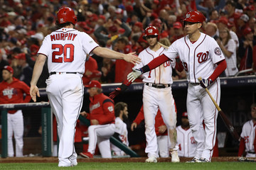 Daniel Murphy Divisional Round - Chicago Cubs v Washington Nationals - Game Five