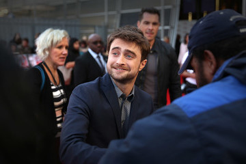 Daniel Radcliffe Empire Live: 'Swiss Army Mam' & 'Imperium' - Double Bill Gala Screening - Red Carpet Arrivals