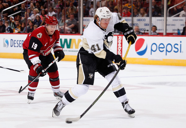 Pittsburgh Penguins v Arizona Coyotes