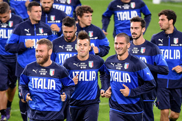 Daniele De Ross Italy Training Session & Press Conference