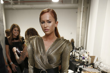Danielle Moinet New York Fashion Week Nolcha Shows Spring Summer 2020 Backstage