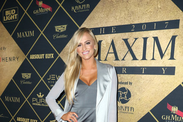 Danielle Moinet Maxim Super Bowl Party - Red Carpet