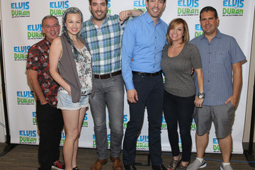"""Danielle Monaro 'The Property Brothers' Jonathan and Drew Scott"""" Visit 'The Elvis Duran Z100 Morning Show'"""