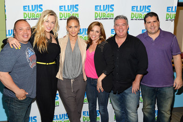 Danielle Monaro Jennifer Lopez Visits a Radio Morning Show