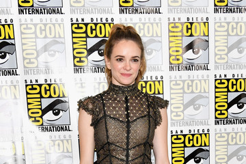 Danielle Panabaker Comic-Con International 2017 - 'The Flash' Press Line