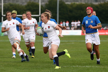 Danielle Waterman England v Italy - Women's Rugby World Cup 2017