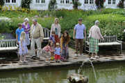 (L-R)  Princess Benedikte of Denmark, Prince Henrik, Princess Isabella , Prince Christian, Prince Vincent Frederik Minik Alexander, Crown Princess Mary, Prince Frederik and Queen Margrethe II pose during a photocall for the Royal Danish family at their summer residence of Grasten Slot on July 20, 2012 in Grasten, Denmark.