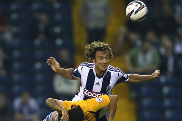 Danny Crow West Bromwich Albion v Newport County AFC