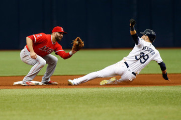 Danny Espinosa Los Angeles Angels of Anaheim v Tampa Bay Rays