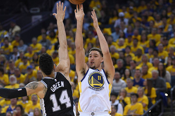 Danny Green San Antonio Spurs vs. Golden State Warriors - Game One