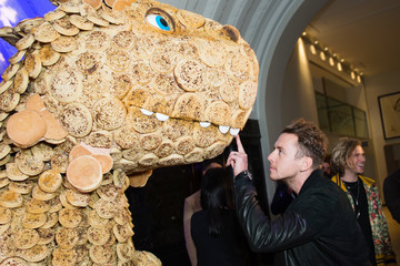 Danny Jones Warburtons and The Christmasaurus - Launch Event