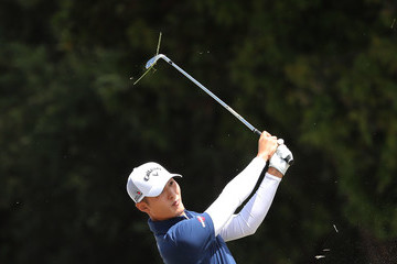 Danny Lee ISPS Handa World Cup of Golf - Day 2
