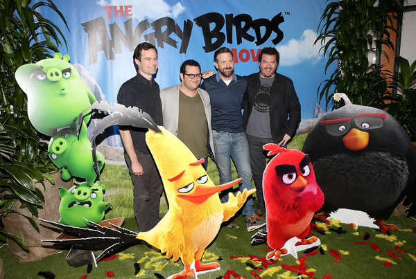 Angry Birds Cast Photo Call with Jason Sudeikis, Josh Gad, Danny McBride and Bill Hader