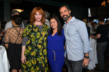 Danny Pino David Burtka Celebrates The Launch Of 'The Life Is A Party Cookbook' In Los Angeles With The Capital One Savor Credit Card