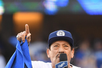 Danny Trejo League Championship Series - Milwaukee Brewers vs. Los Angeles Dodgers - Game Three