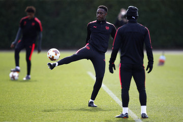 Danny Welbeck Arsenal Training Session