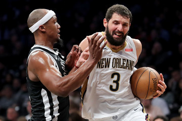 Dante Cunningham New Orleans Pelicans v Brooklyn Nets