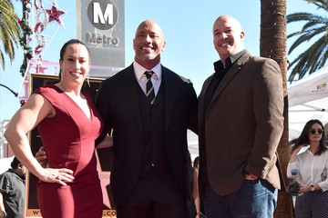 Dany Garcia Dwayne Johnson Honored With Star on the Hollywood Walk of Fame