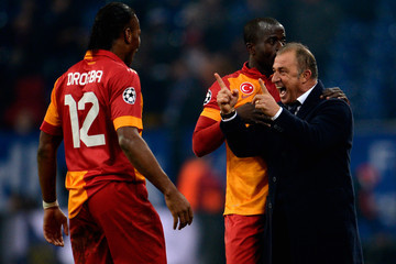 Dany Nounkeu FC Schalke 04 v Galatasaray AS - UEFA Champions League Round of 16
