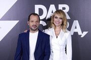 Patricia Conde and Angel Martin attend 'Dar Cera, Pulir #0' Movistar presentation at The Mediapro Studio on May 30, 2019 in Madrid, Spain.