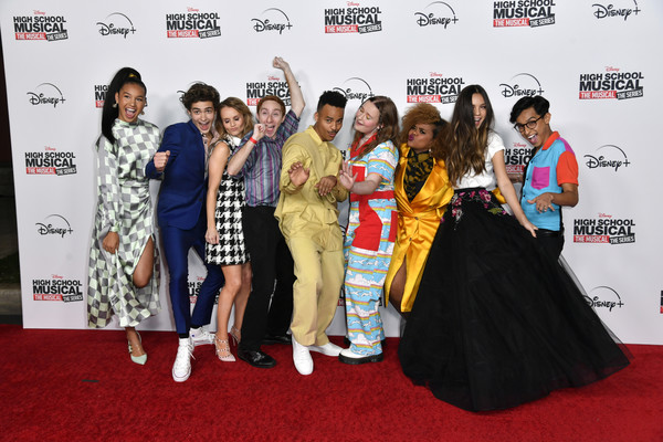 Premiere Of Disney+'s 'High School Musical: The Musical: The Series' - Arrivals