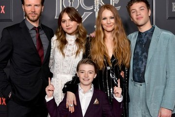Darby Stanchfield Connor Jessup 2020 Getty Entertainment - Social Ready Content