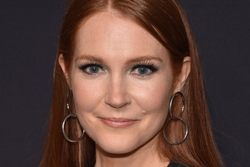 Darby Stanchfield Entertainment Weekly and PEOPLE Upfronts Party at Second Floor in NYC Presented By Netflix and Terra Chips - Arrivals
