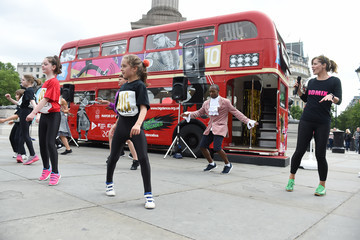 Darcey Bussell Darcey Bussell And Akram Khan Launch Big Dance Week 2016 At Trafalgar Square