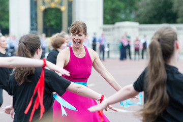 Darcey Bussell The Patron's Lunch to Celebrate the Queen's 90th Birthday